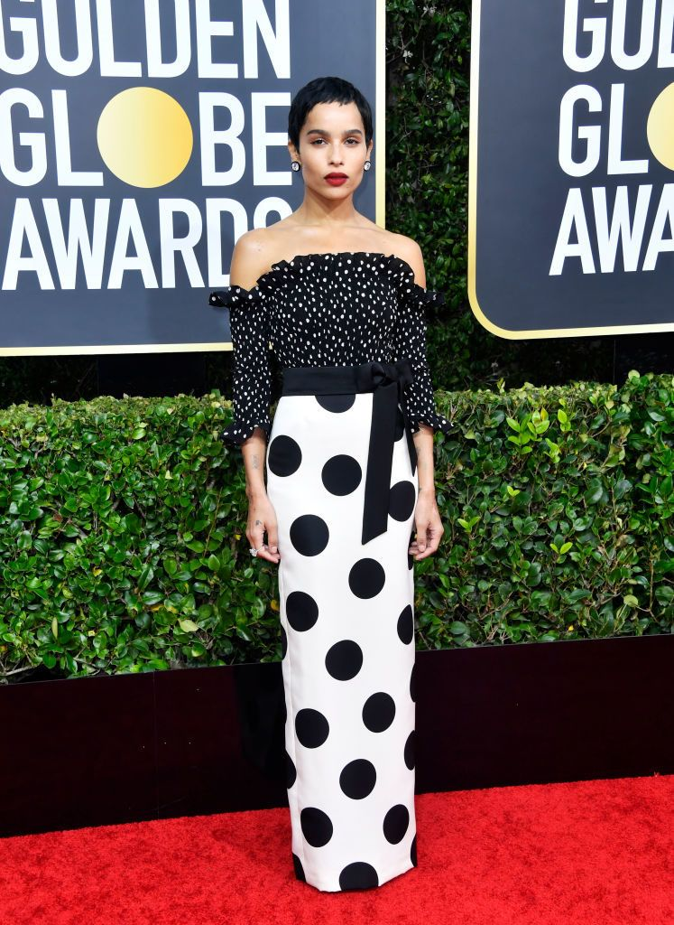 Zoë Kravitz Golden Globe 2020