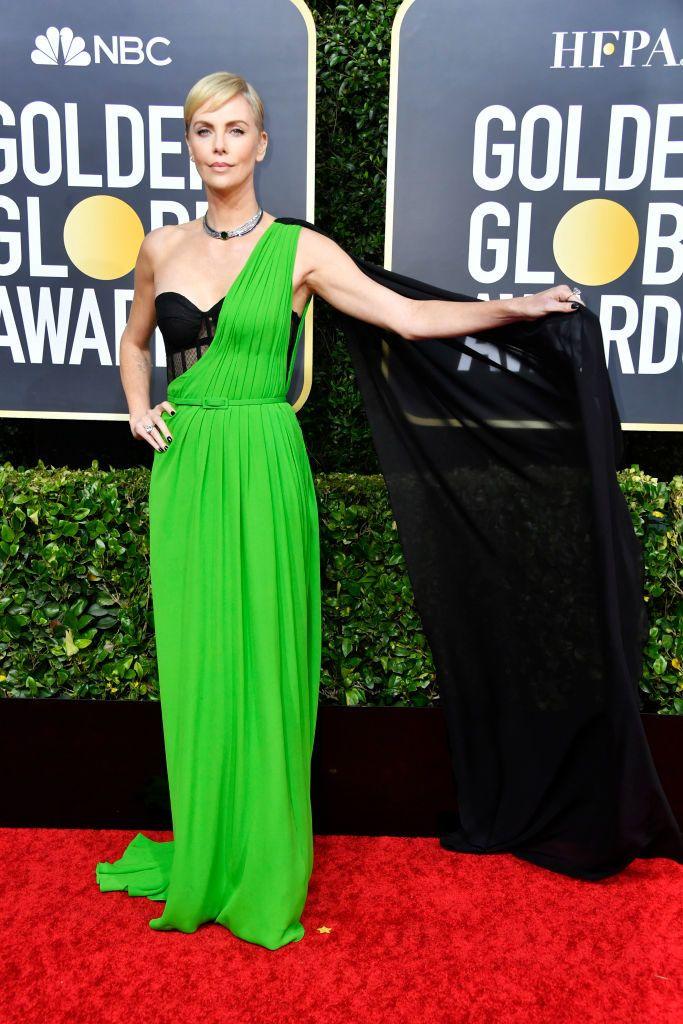 Charlize Theron Golden Globe 2020