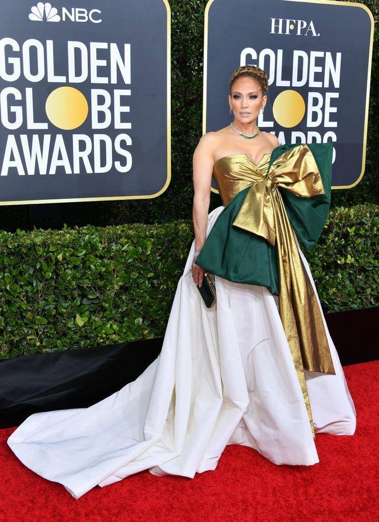 Jennifer Lopez Golden Globe 2020