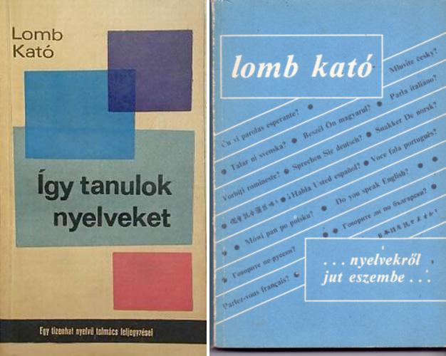 Lomb Kató könyvei