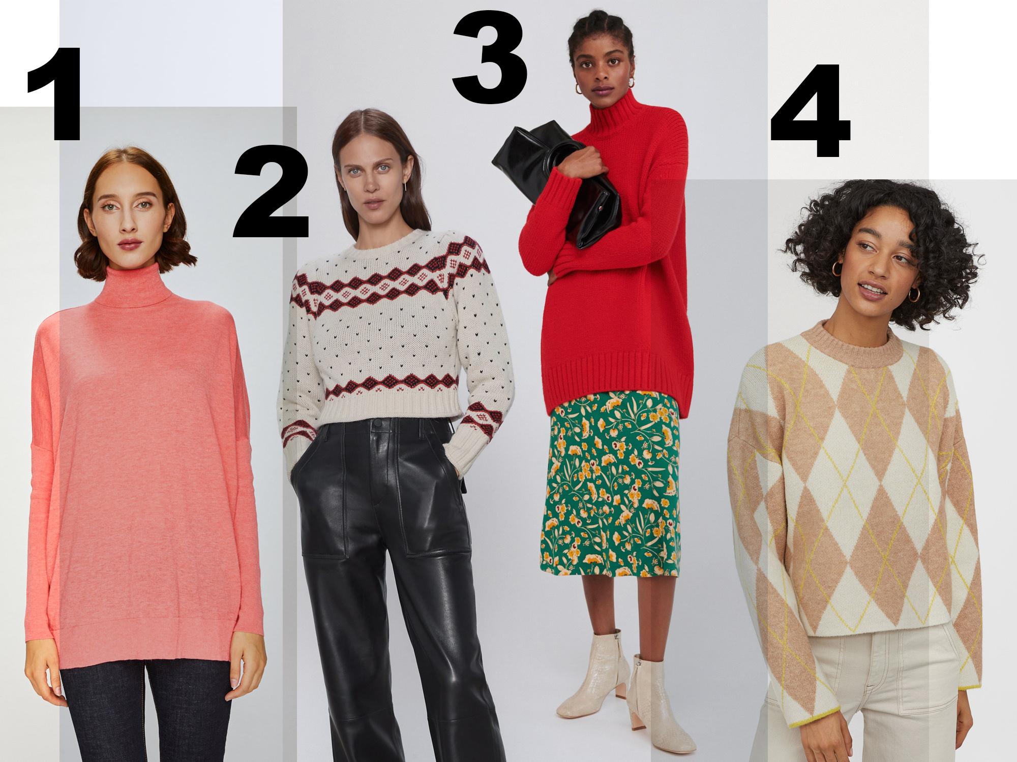 leárazott pulóverek