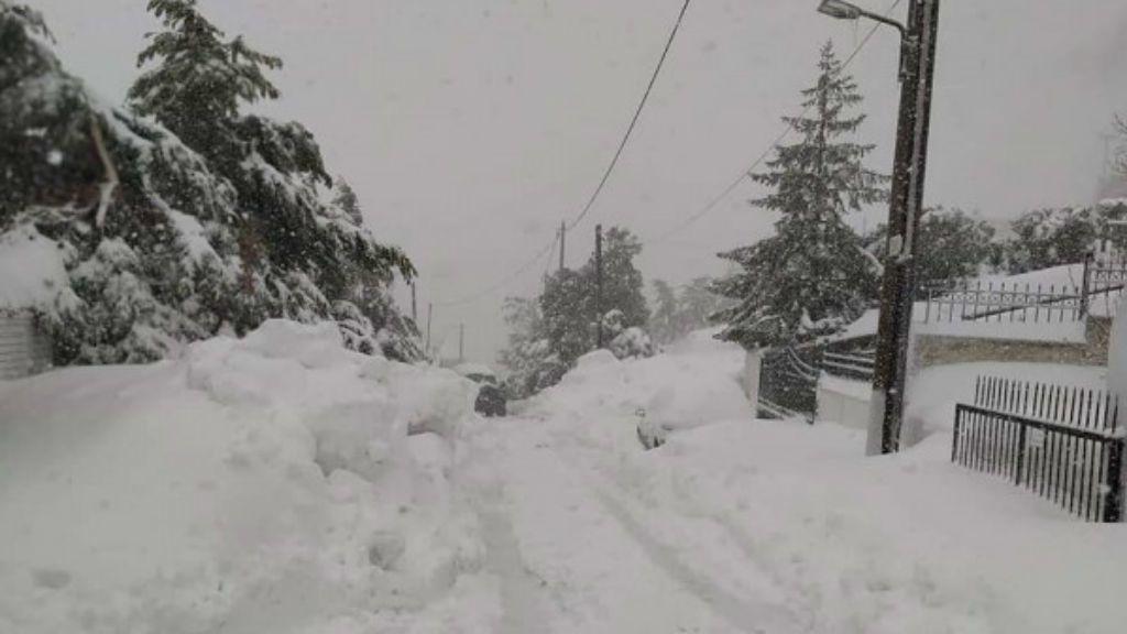 görögország havazás