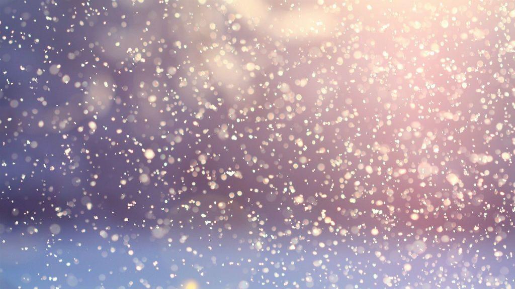 hó havazás tél
