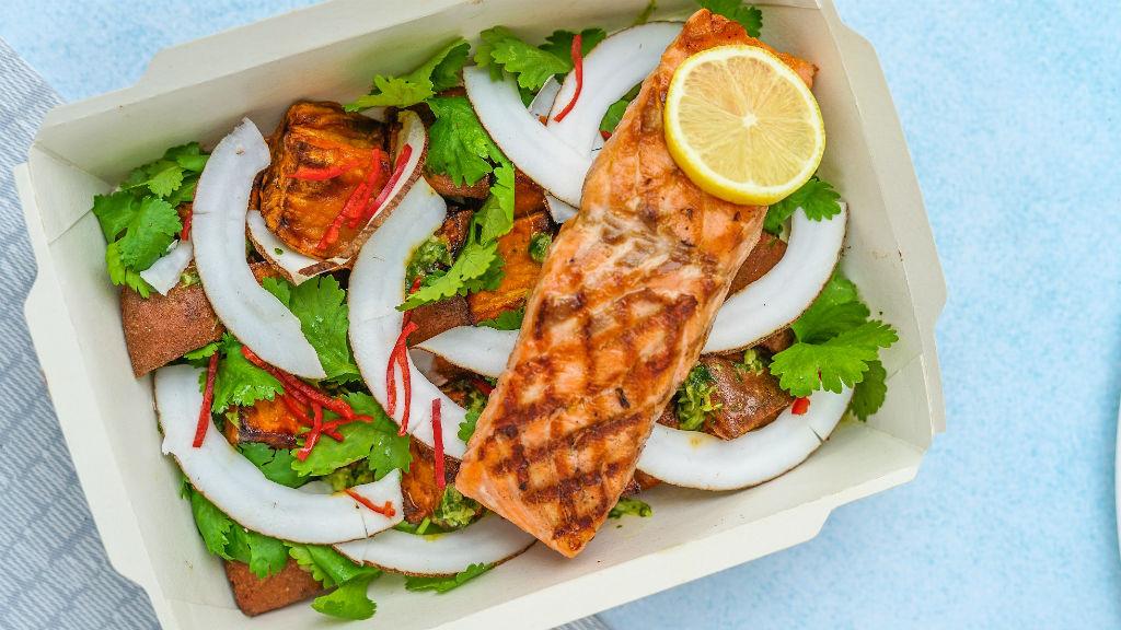 saláta dobozos étel ételrendelés