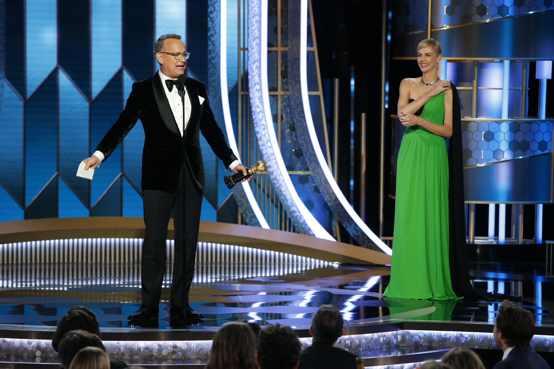 Tom Hanks és Charlize Theron (Fotó: Getty Images)
