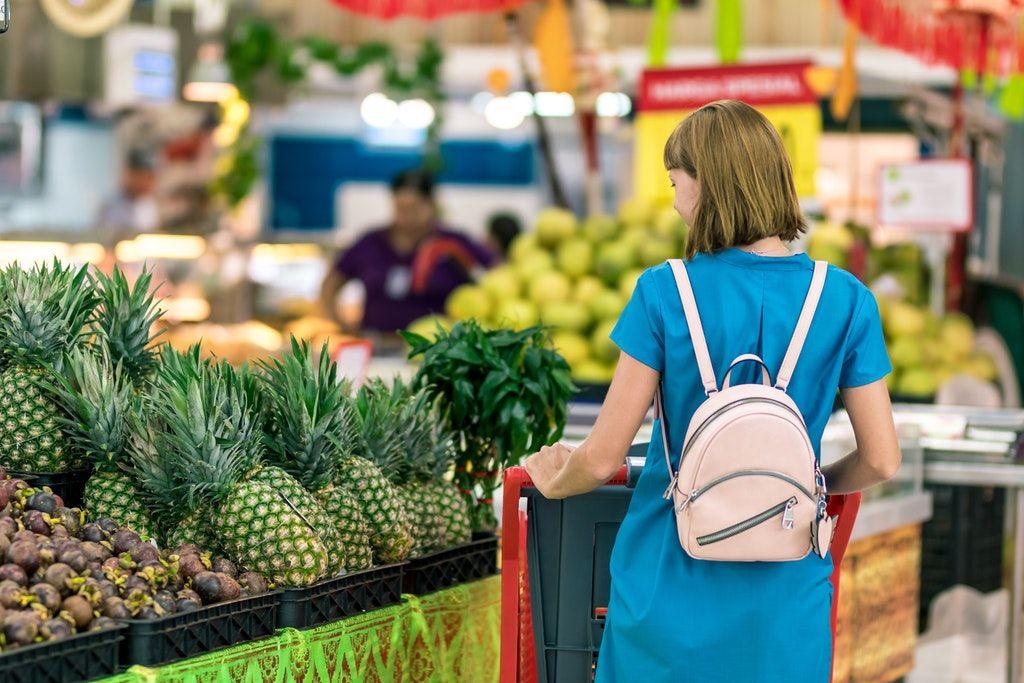 piac, bevásárlás, zöldség, gyümölcs