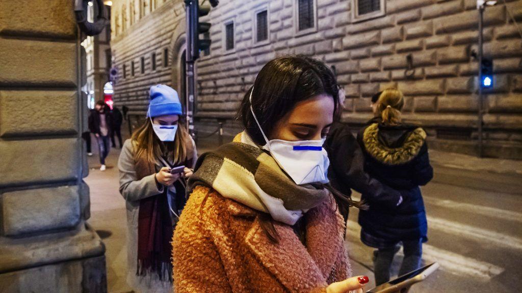 A koronavírus már Európában is megjelent, Olaszországban a legkomolyabb a helyzet (Fotó: Getty Images)
