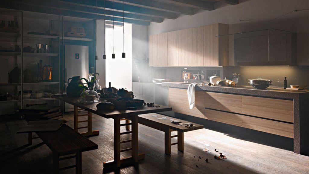 A konyha felújításánál a natúr elemeket ajánlják idén (www.konyhakiallitas.hu)