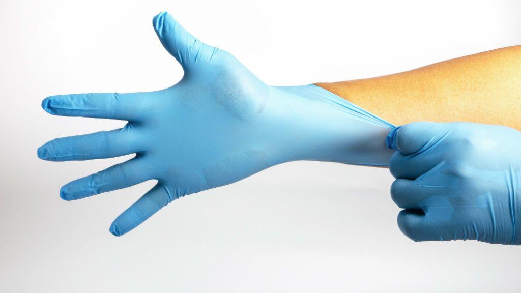 steril kesztyű orvos kórház betegség