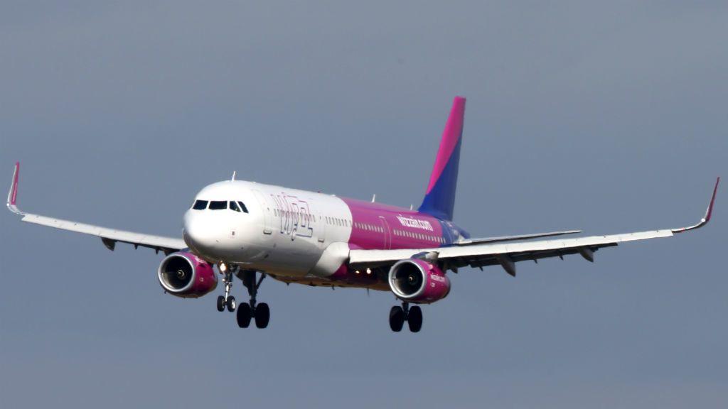 Wizz Air repülőgép