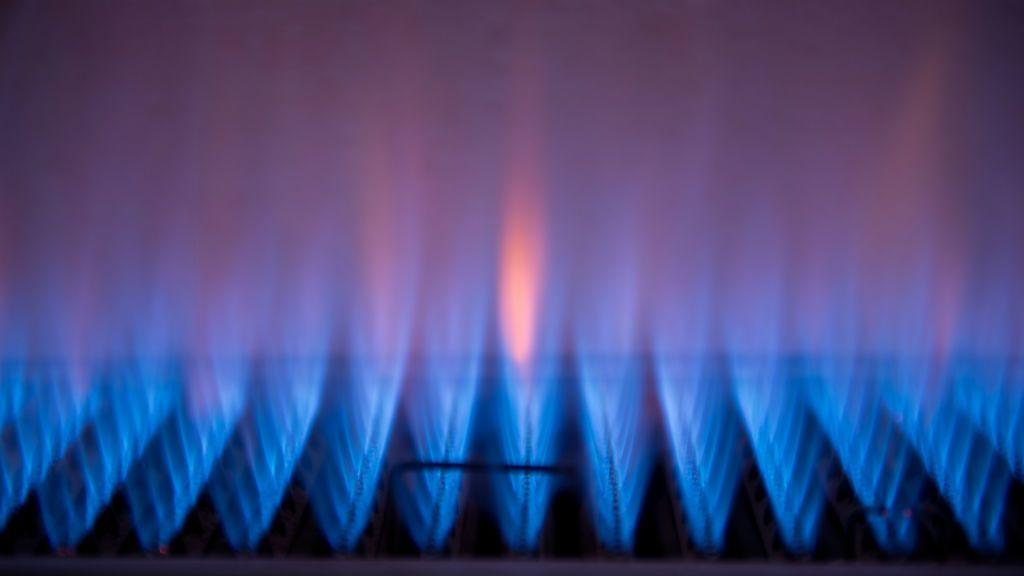 gázláng gázfűtés