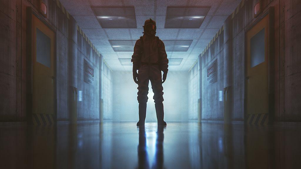 bunker, túlélés, koronavírus, karantén
