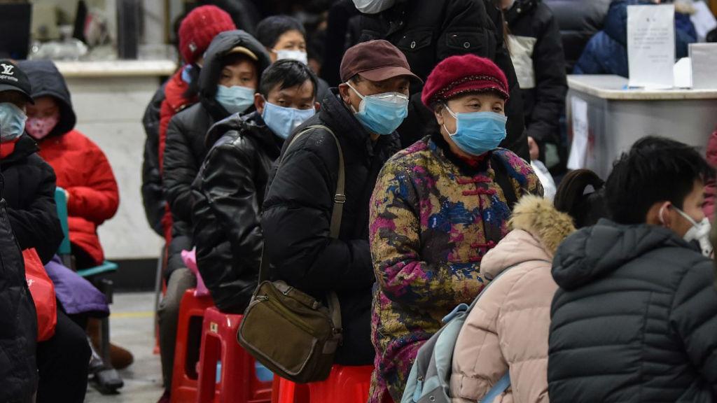koronavírus vuhan kína szájmaszk