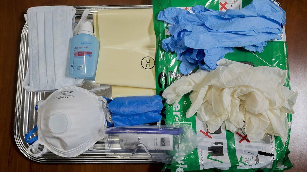 Minden misszióhoz eljuttatnak járványvédelmi csomagot (Fotó: honvedelem.hu)