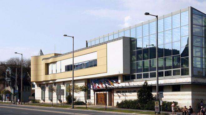 A nyíregyházi Kodály Zoltán Általános Iskola épülete a Selyem utcában.MTVA Fotó: Váli Miklós