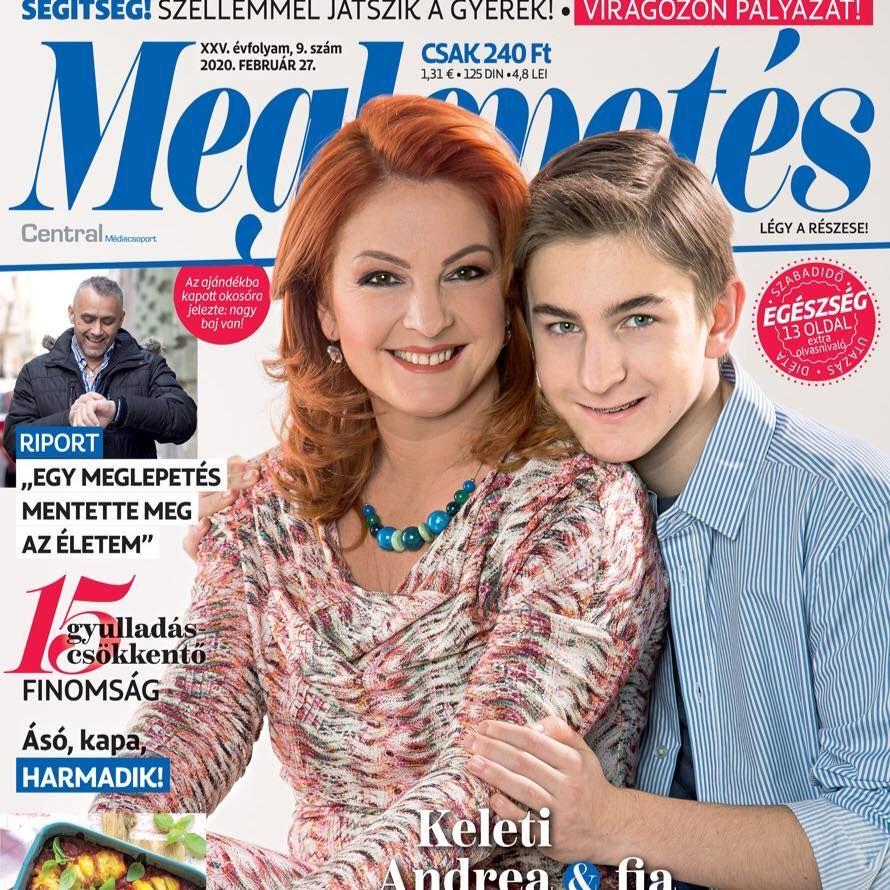 Keleti Andi fiát és férjét simán összekevernéd - fotó