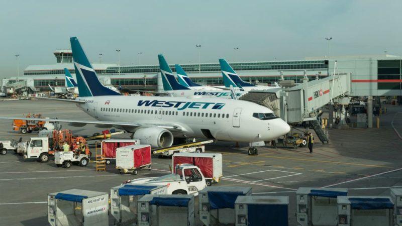 westjet repülőgép repülőtér kanada