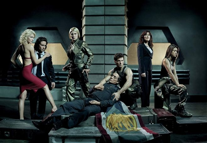 sorozatok battlestar galactica