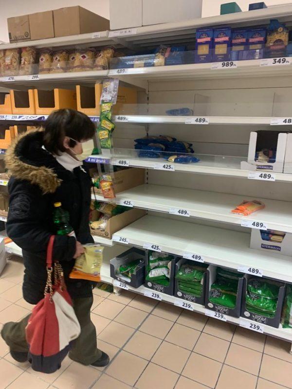 Pánik nincs, de óvatos felkészülés van - Fotó: nlc