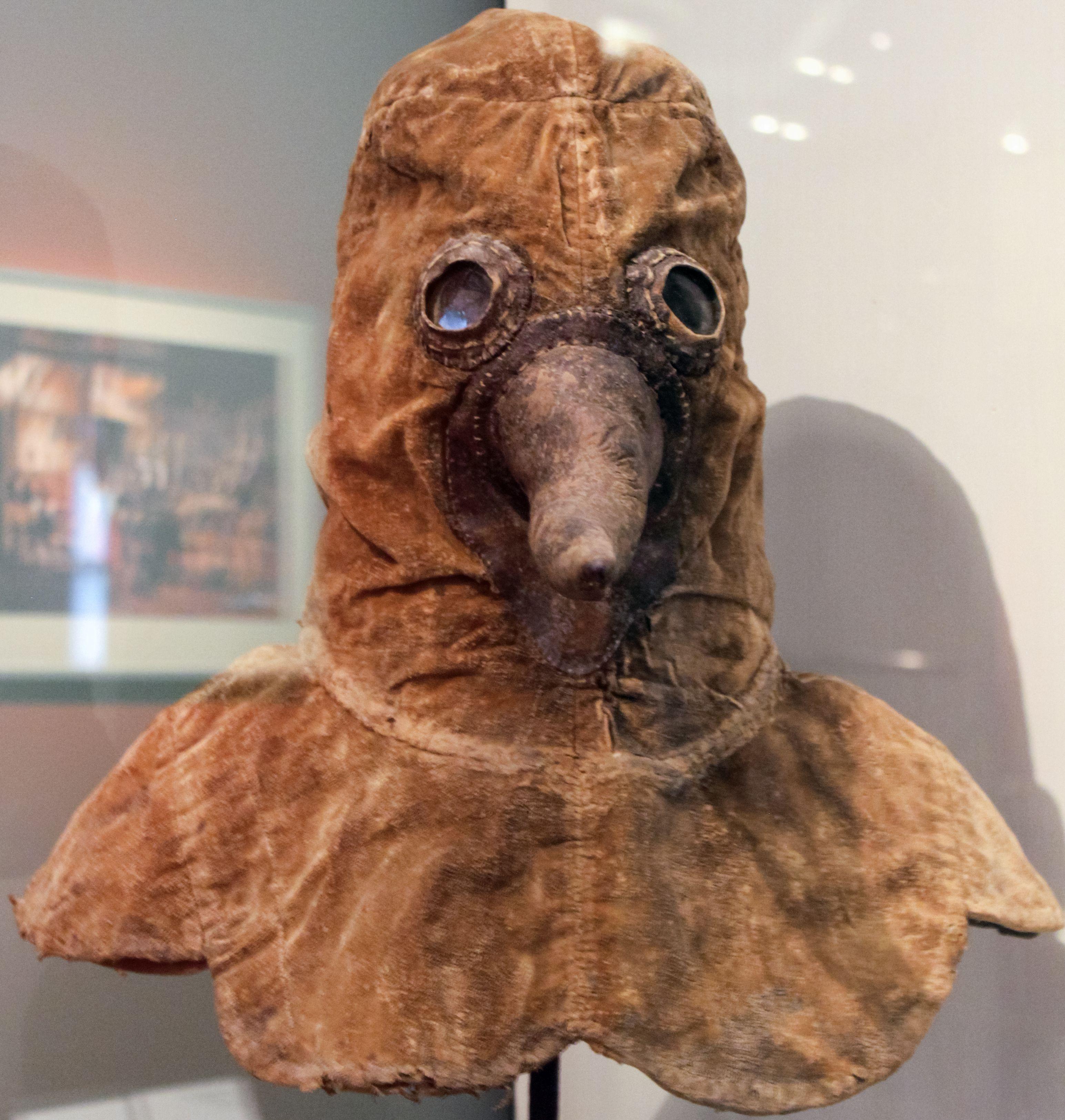 A Star Wars világát idéző pestisdoktor-maszk (fotó: Wikipedia)