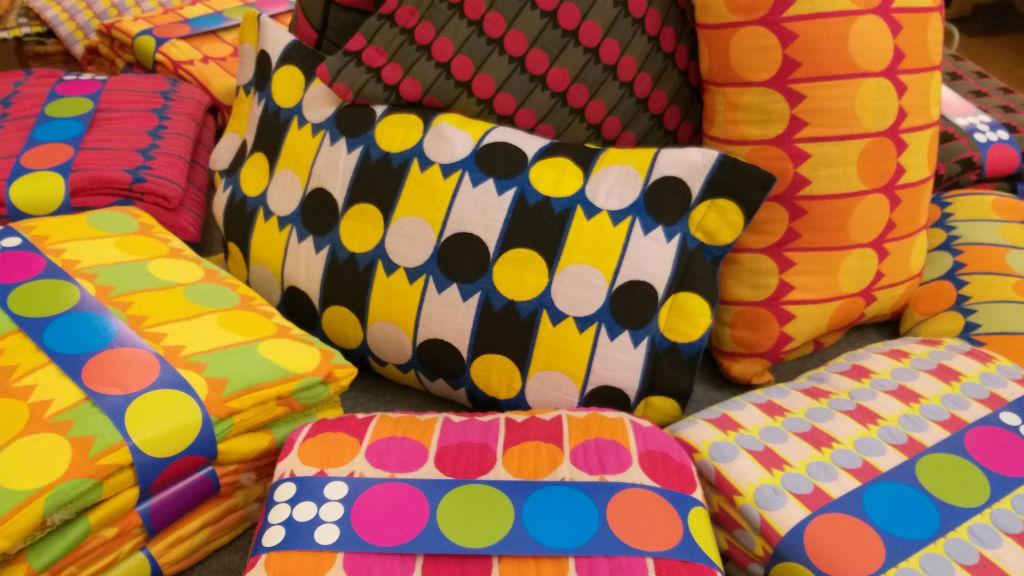 Harmati Hedvig textiltervező munkái