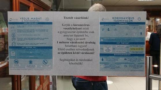 koronavírus, gyógyszertár