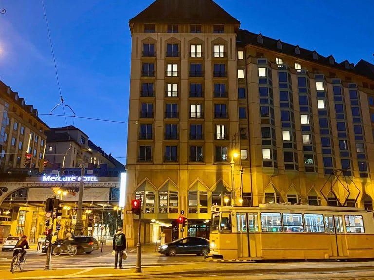 A Kálvin téri Mercure hotel sugározza magából a szeretetet - Fotó: Olvasónk, Jankó Bálint felvétele