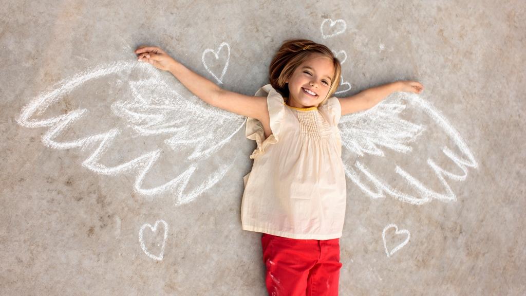 Az angyalok segítenek, hogy elengedhesd magadból a félelmeket (fotó: Getty)