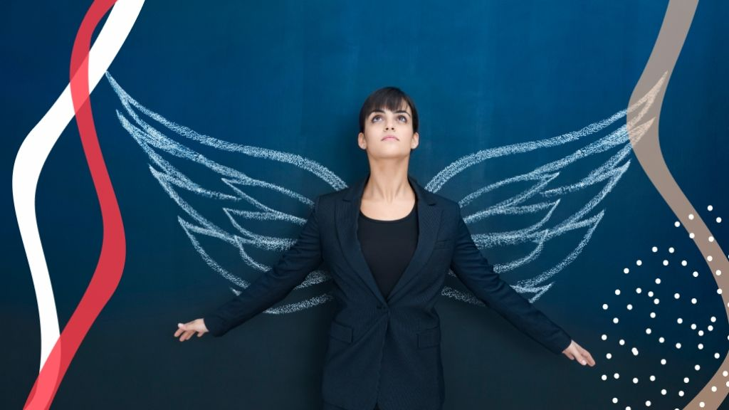 Az angyalok a bajban segítenek a legtöbbet. Figyeled a jeleket? (fotó: Getty)
