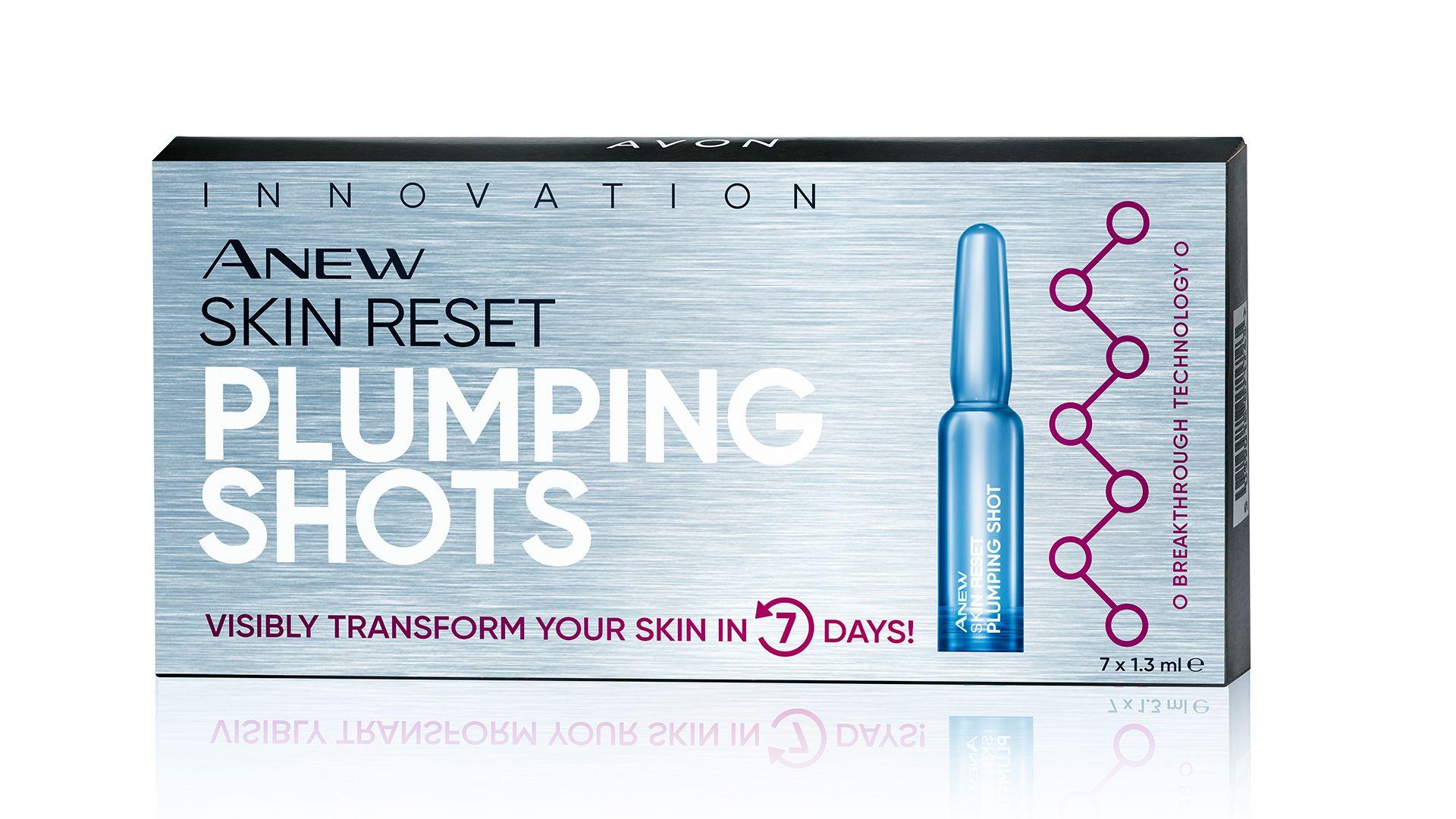 AVON - Anew Skin Reset bőrfeszesítő ampullák
