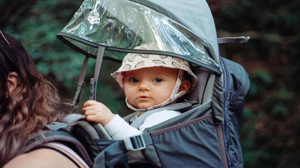 Frappáns ötlettel állt elő egy anya, hogy a bevásárlásai során megvédje babáját a koronavírustól. Illusztráció: Jens Johnsson on Unsplash