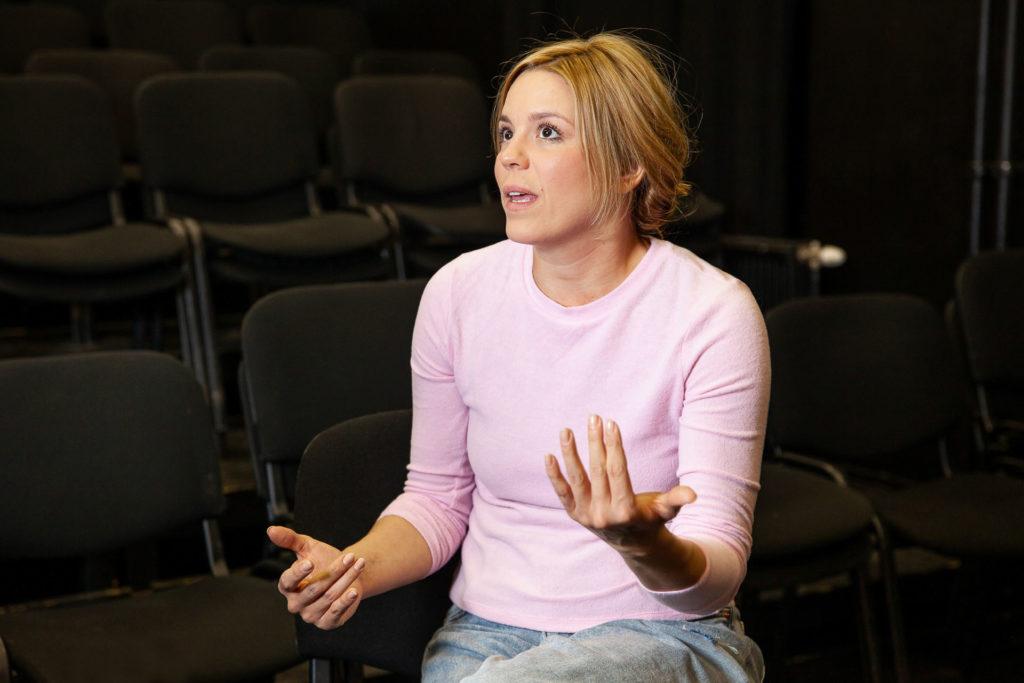 Bata Éva színésznő (Fotó: Czvitkovits Judit)