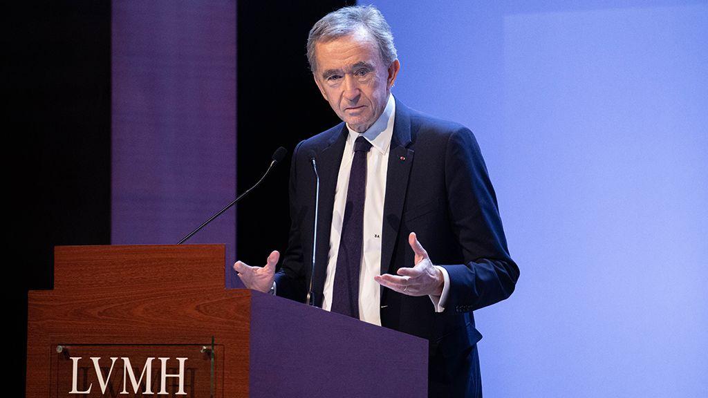 Bernard Arnault, az LVMH Cégcsoport vezérigazgatója