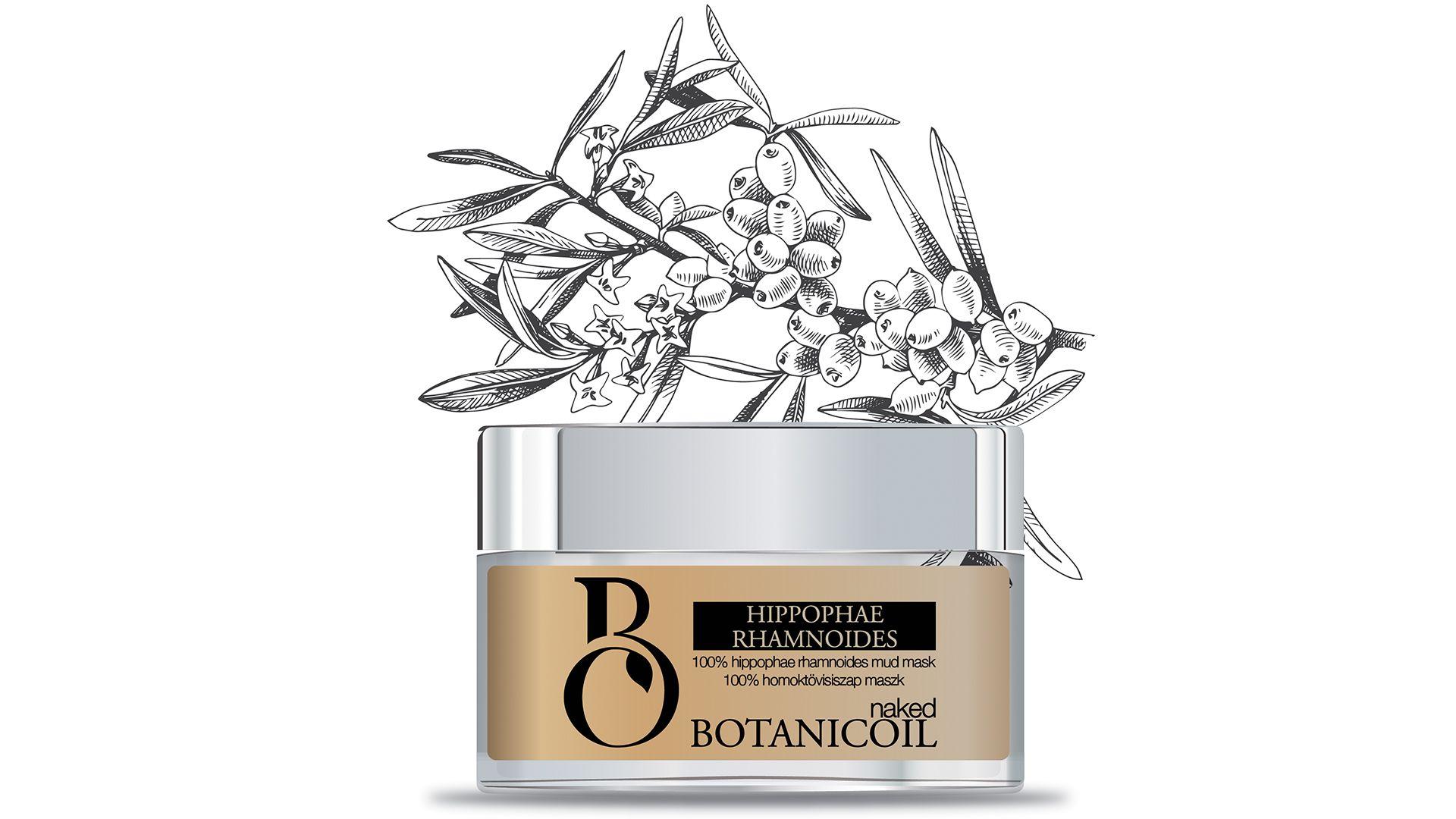 BotanicOil - Hippophae Rhamnoides Mud Mask, 100% Homoktövis Maszk
