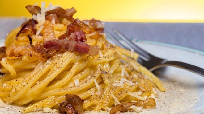 Gyors étel spagetti carbonara (Fotó: Getty Images)