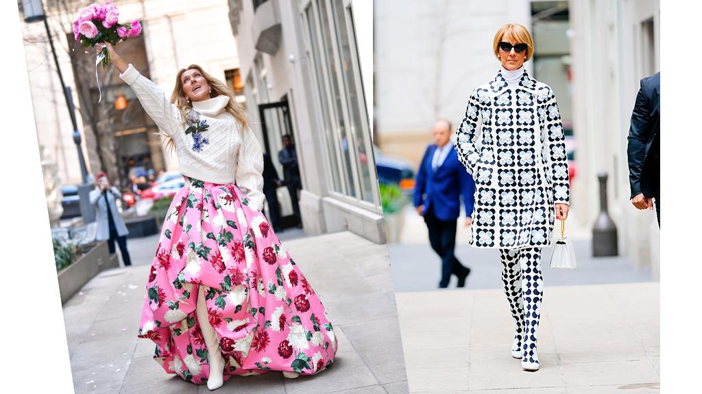 Celine Dion ismét bebizonyította, valódi divatikon.