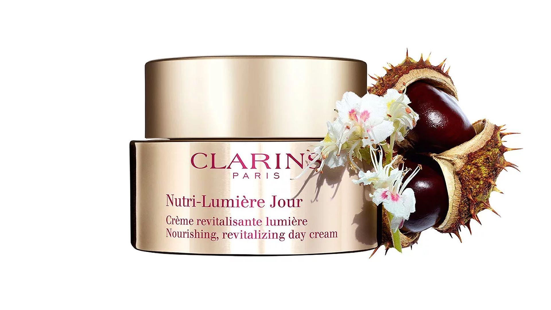 Clarins - Nutri-Lumière Jour Arcápoló