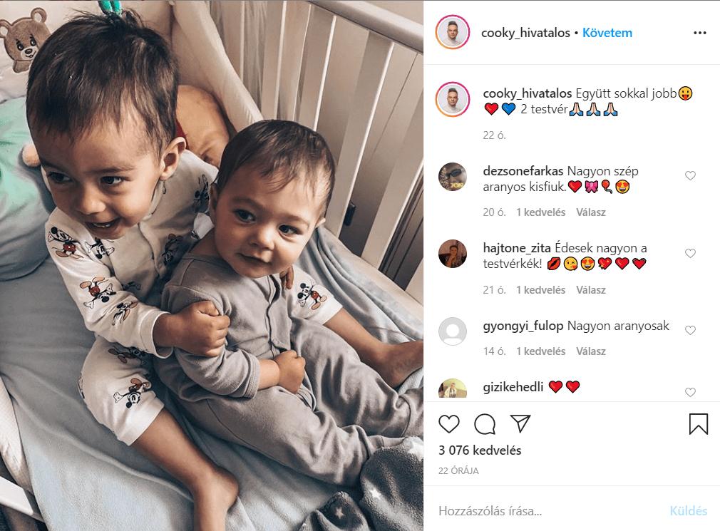 Cooky fiai: Nátán és Kevin