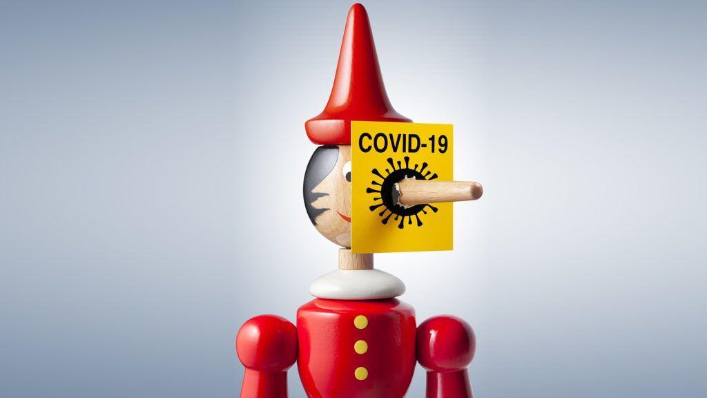 A koronavírus megjelenésével együtt ütötték fel a fejüket a félinformációk, álhírek is (Fotó: Getty Images)