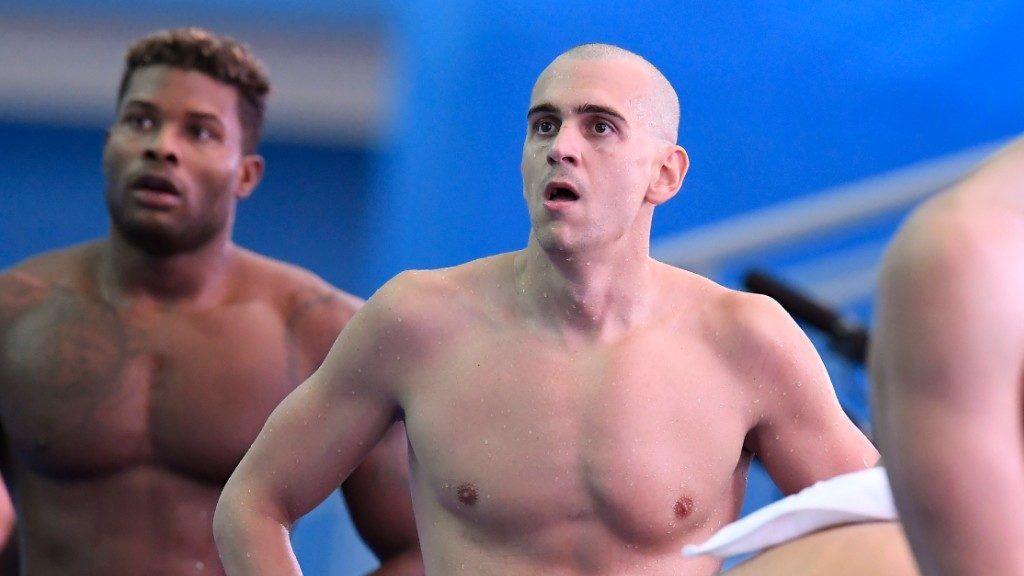 Cseh László a dél-koreai vizes világbajnokságon (Fotó: MTI / Kovács Tamás)