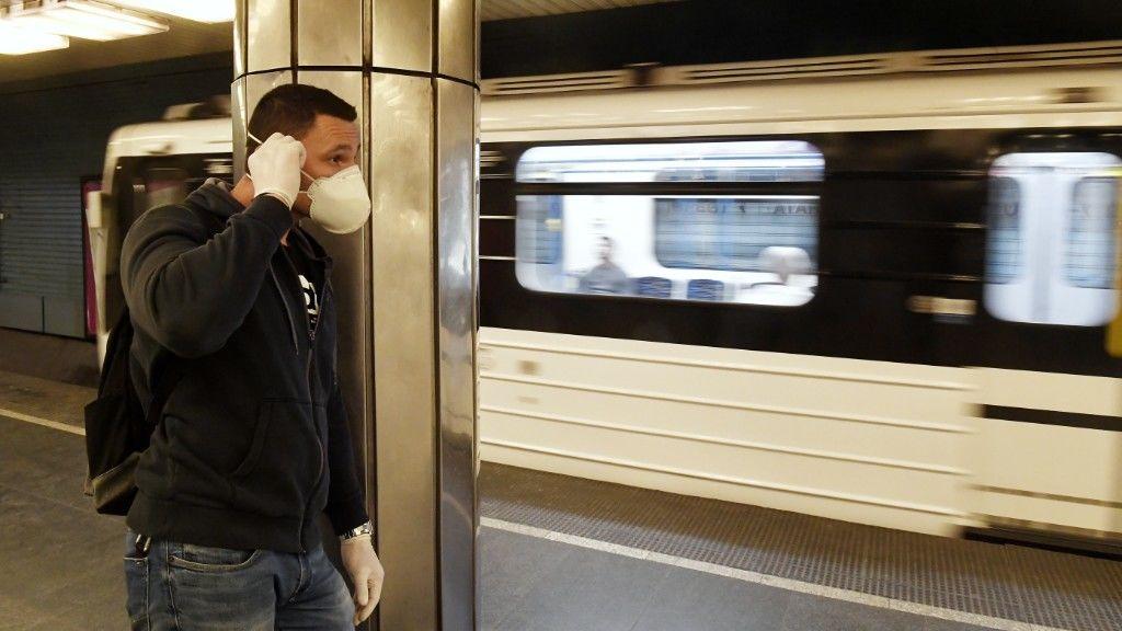 koronavírus metró