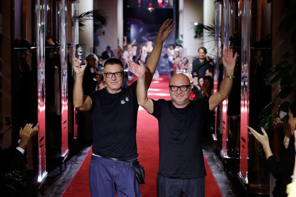 Stefano Gabbana és Domenico Dolce (Fotó: Andreas Rentz/Getty Images)