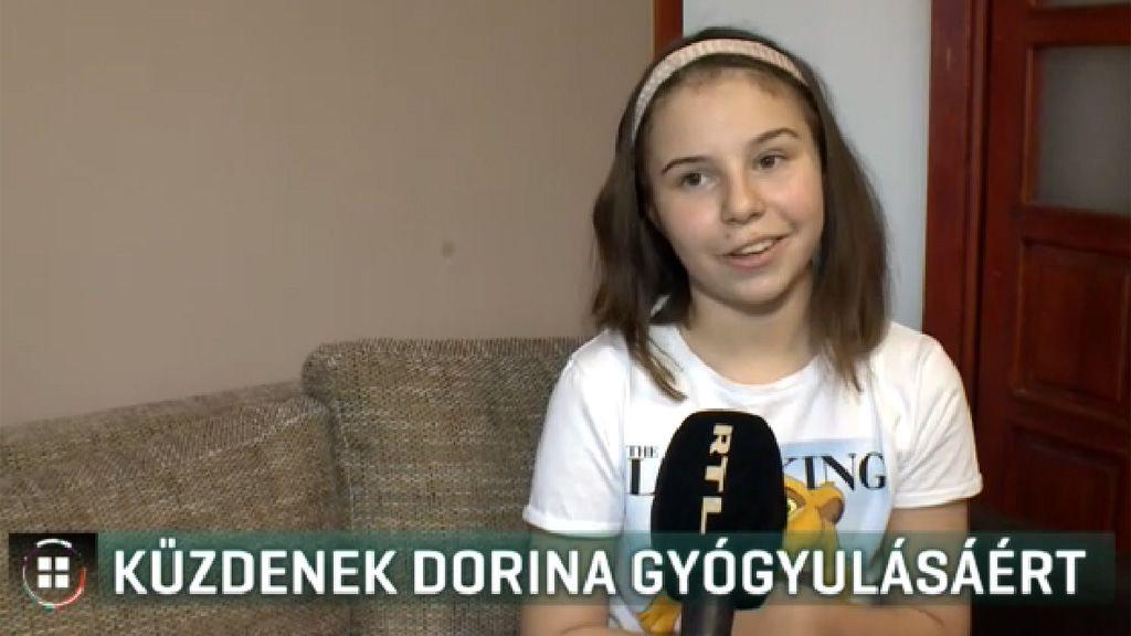 Egy éve agydaganattal küzd Dorina, már 60 súlyos kezelésen van túl