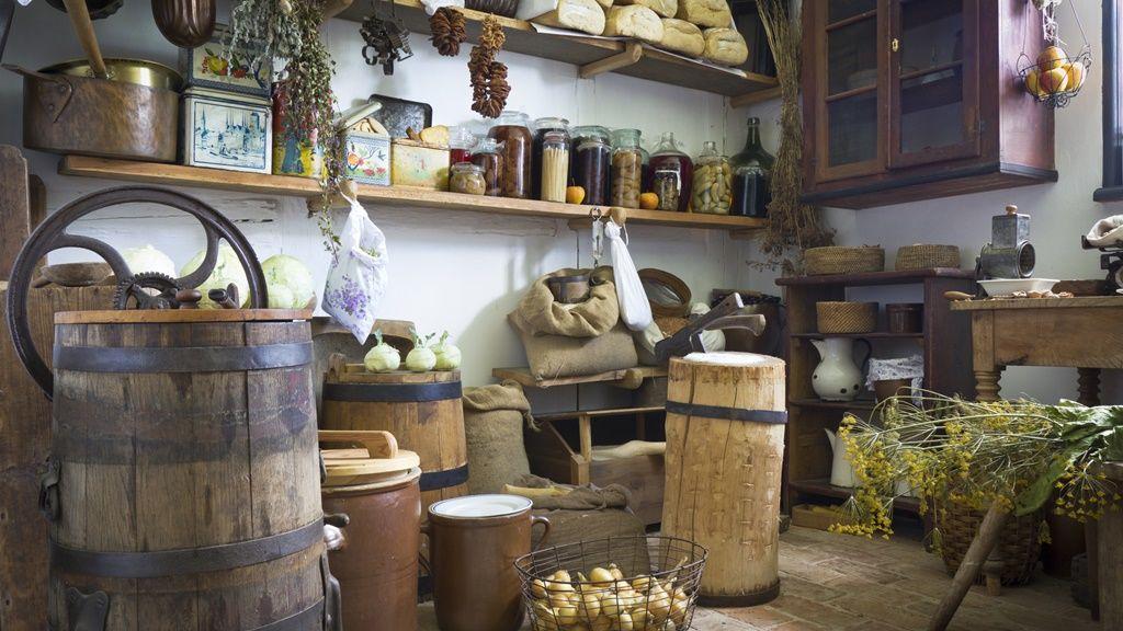 Felhalmozott élelmiszer tartalék (Fotó: Getty Image)