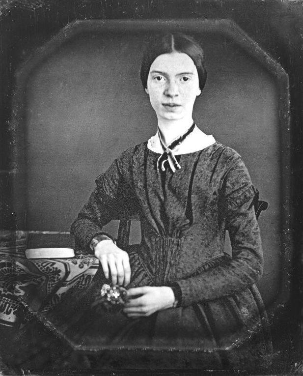 Emily Dickinson egyetlen ismert hiteles portréja 1847-ből (fotó: Wikipedia