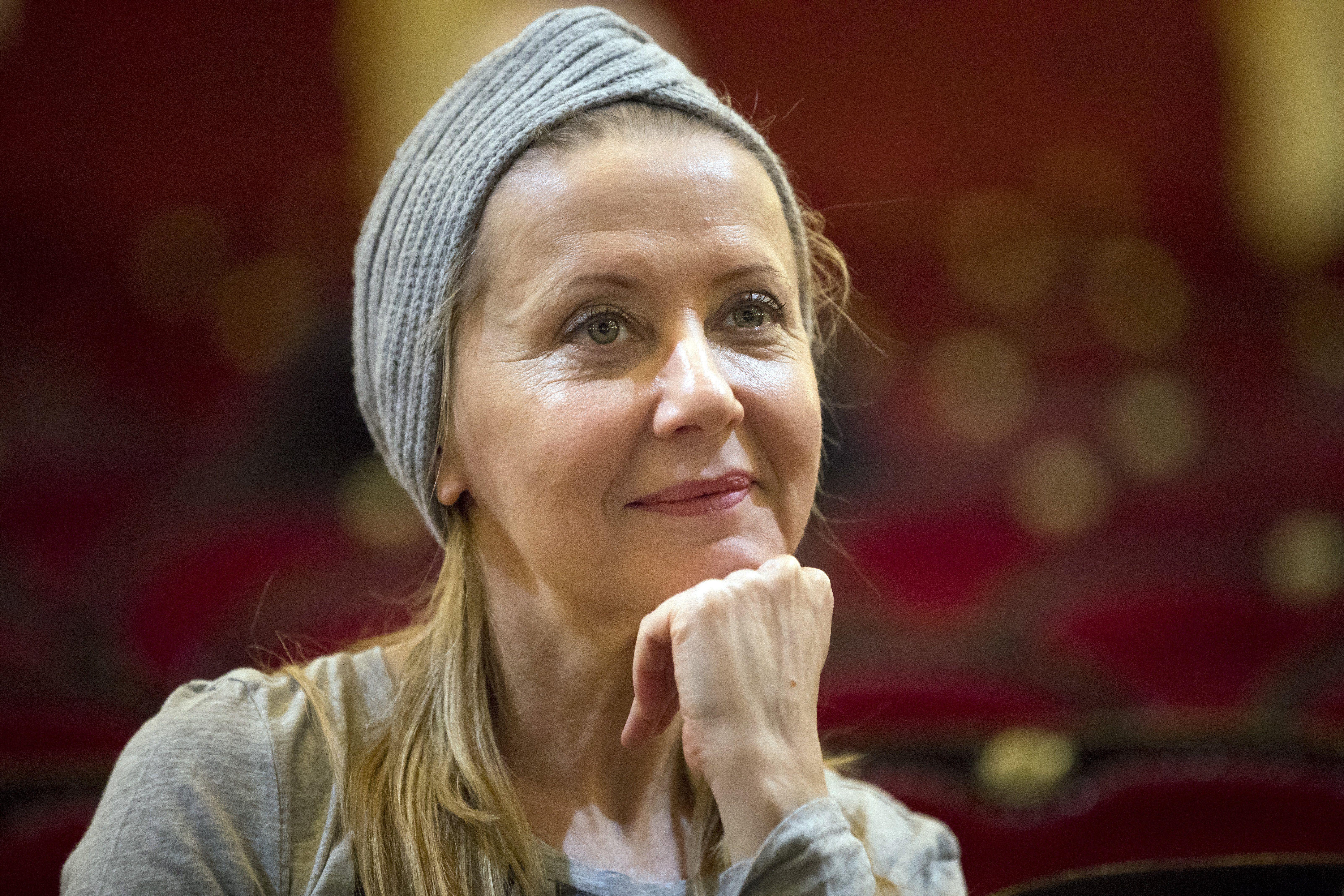 Kovács Patrícia is durva dolgokkal vádolja Eszenyi Enikőt (Fotó: MTI)