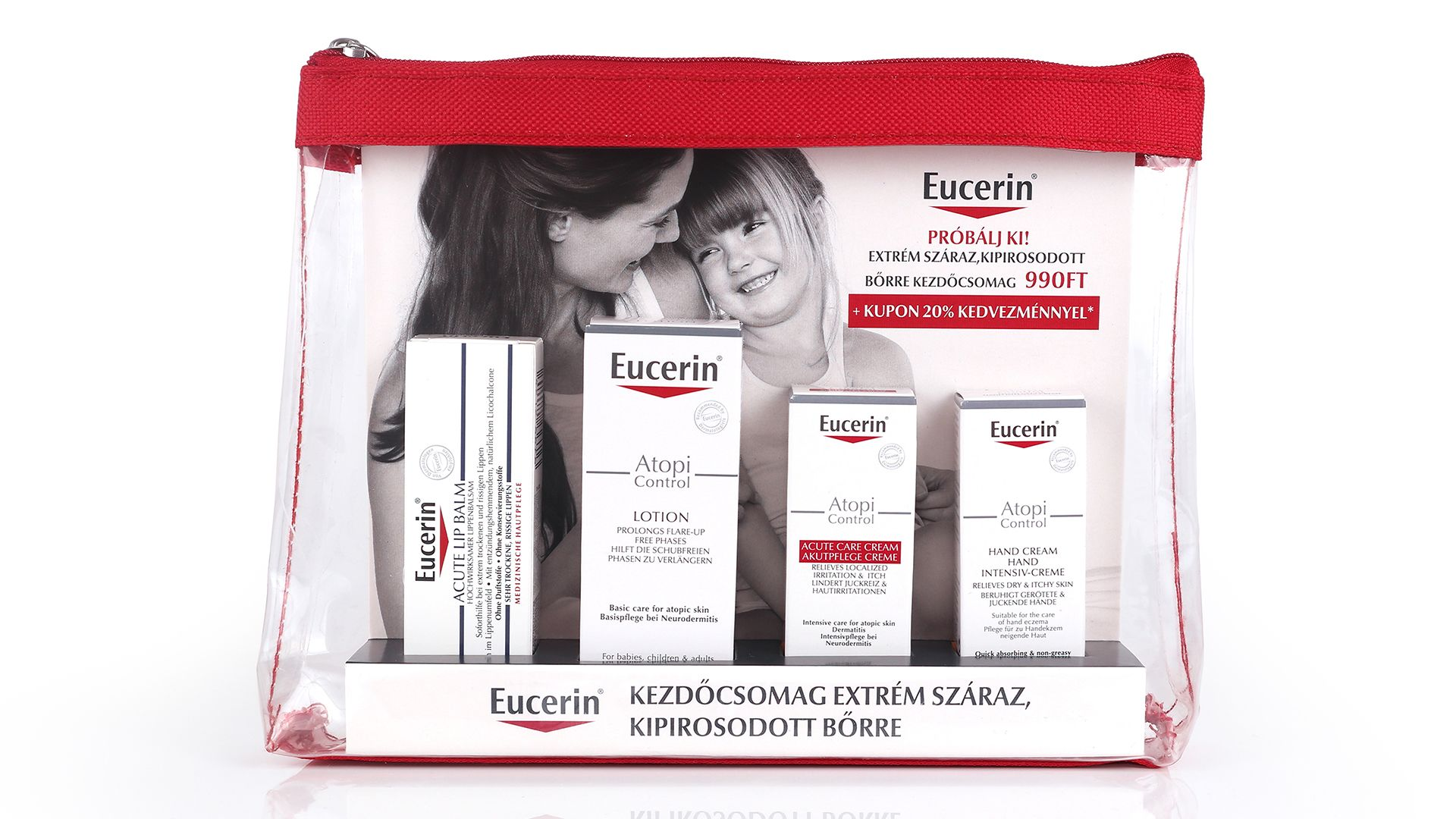 Eucerin -AtopiControl próbacsomag