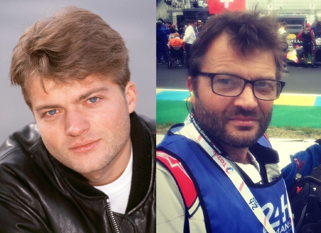 Fabien Remblier 1995-ben és napjainkban (Fotó: Getty Images, Instagram)