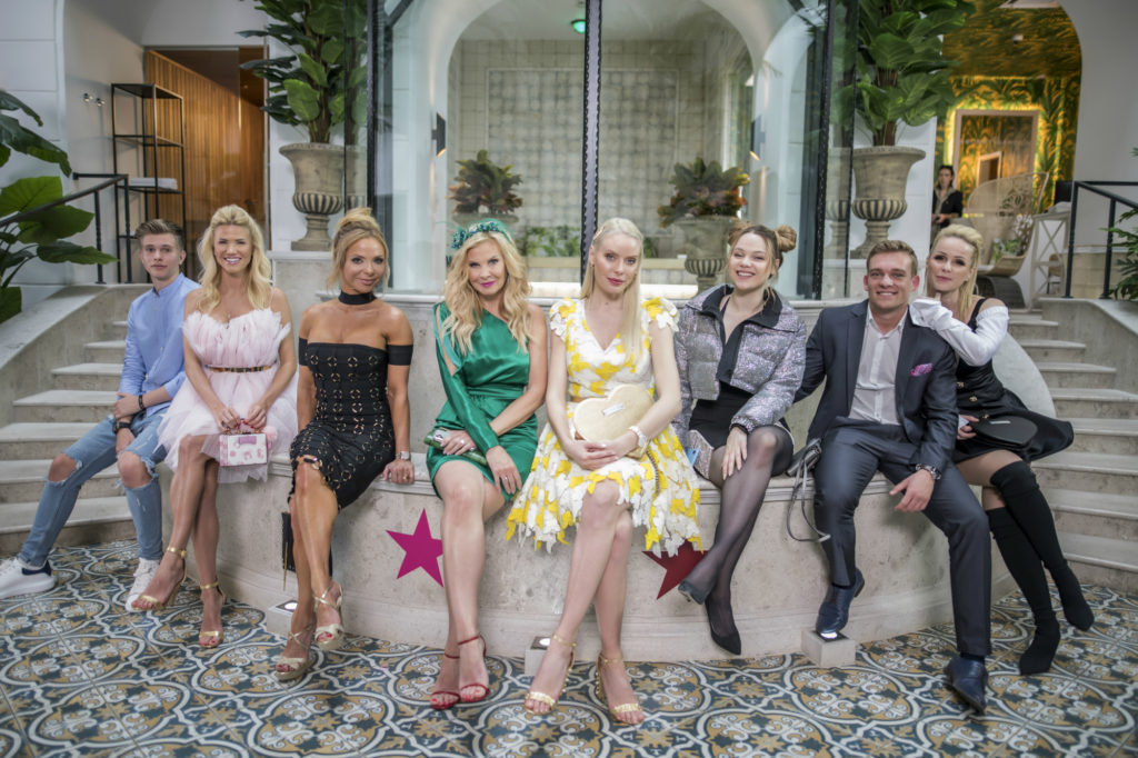 A Feleségek luxuskivitelben szereplői (Fotó: VIASAT3/Feleségek luxuskivitelben)