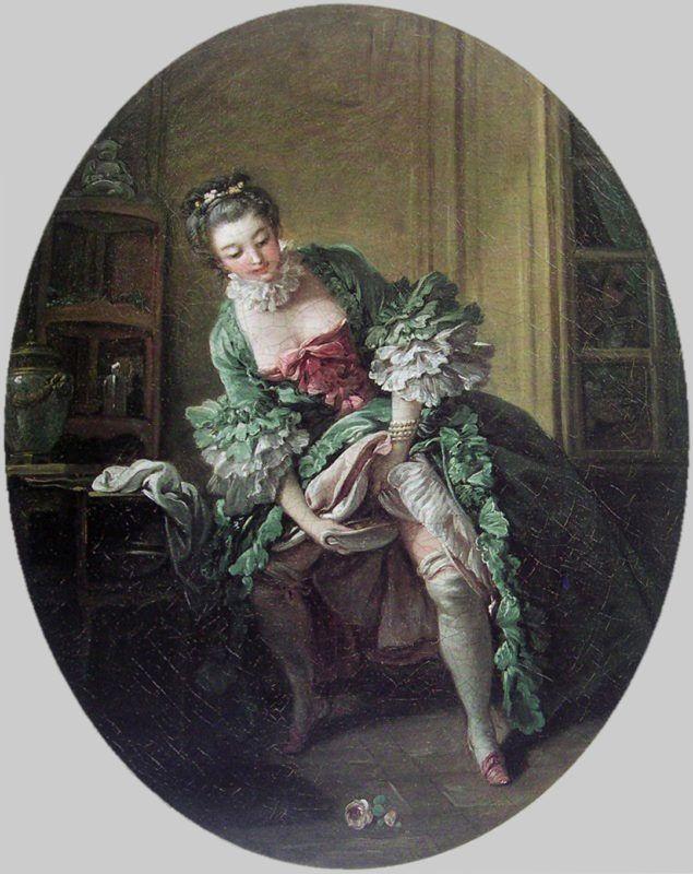 François Boucher - L'OCCHIO INDISCRETO III: LA TOILETTE INTIMA (Forrás: Wikimedia)